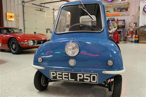 Peel P50 For Sale by World S Smallest Production Car The Peel P50 For Sale