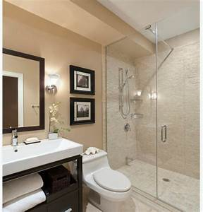 Salle De Bain Moderne Petit Espace : petite salle de bain moderne en 34 exemples inspirants ~ Dailycaller-alerts.com Idées de Décoration