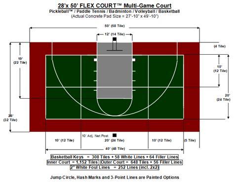 layout multi xpng  basketball court