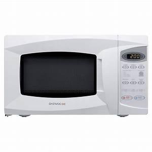 Daewoo Kor6l1b Manual Dual 700w Acrylic Cavity Microwave