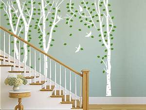 Wand Mit Bildern Gestalten : wandtattoo im treppenhaus auf treppe wand co ~ Sanjose-hotels-ca.com Haus und Dekorationen