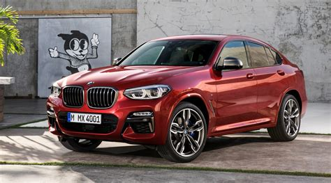 BMW 2019 : 2019 Bmw X4 Is Bigger And More Powerful