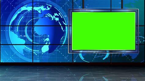 news background green screen youtube