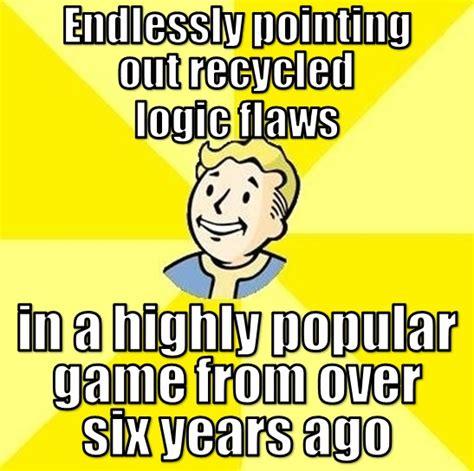 Fallout 3 Logic Logic Gaming