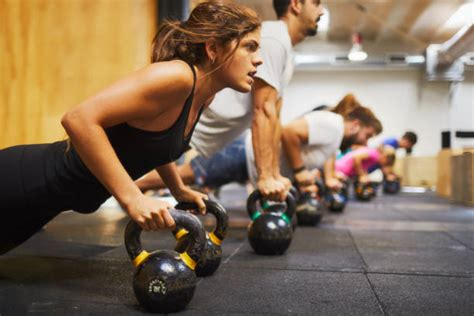 cross training gym exercising focus