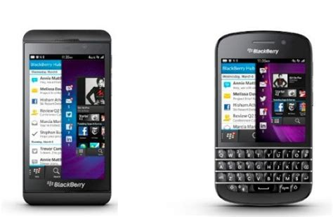 blackberry z10 q10 update