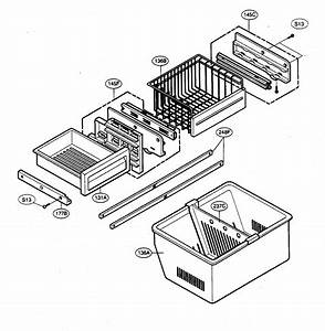 Freezer Parts Diagram  U0026 Parts List For Model 79575549401