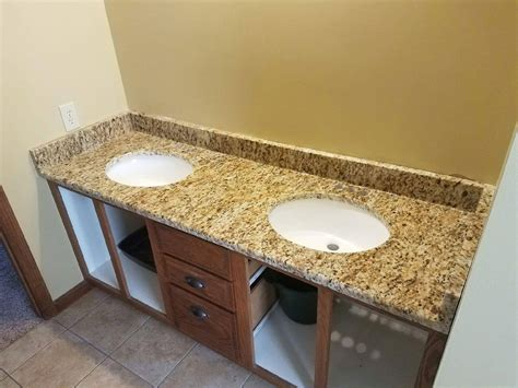 granite bathroom gallery vanity countertop slab