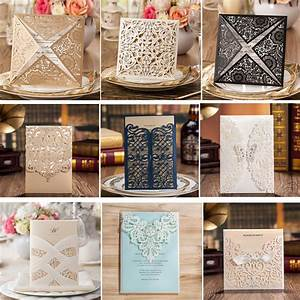 aliexpresscom buy 1 pcs wedding invitations laser With blank wedding invitations for sale
