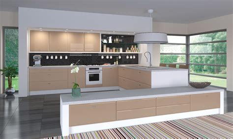 cappuccino coloured kitchen cabinets high gloss cappuccino kitchens modern kitchen