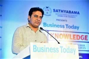 Telangana minister KTR invited to World Economic Forum ...