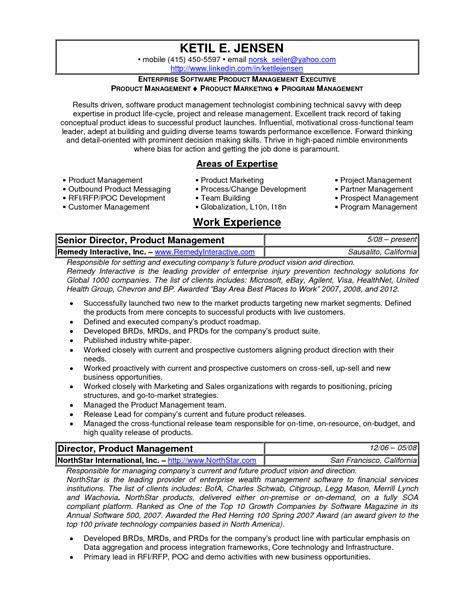 product marketing specialist sle resume entertainment