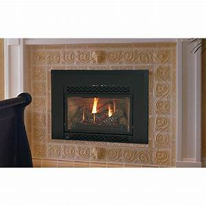 majestic direct vent gas fireplace insert at hayneedle