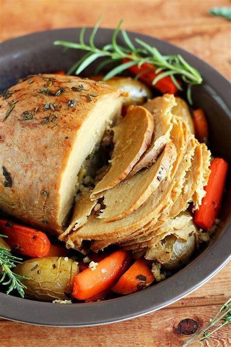 tofurky roast   delicious vegan friendly