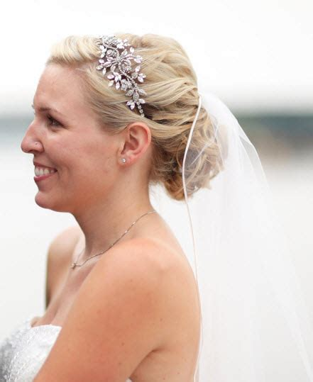 Smy Low Updo With Veils Advice Project Wedding Forums