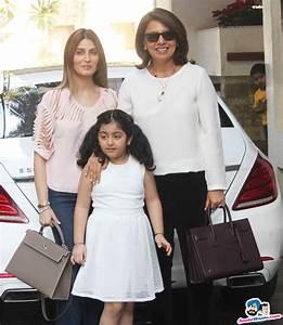 Neetu Singh along with daughter Riddhima Kapoor Sahani and ...