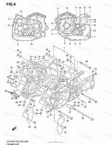 Suzuki Motorcycle 2002 Oem Parts Diagram For Crankcase