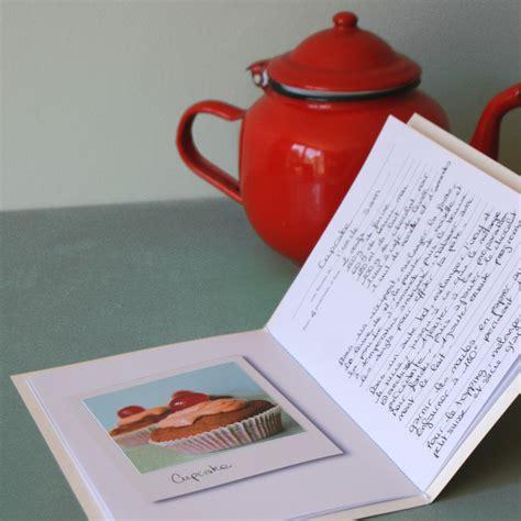 cahier recette cuisine un cahier de recettes à fabriquer soi même