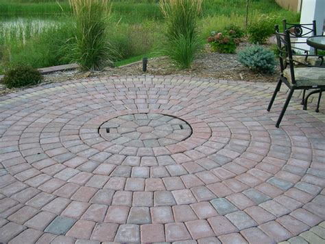 review brick pit ring garden landscape
