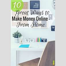 10 Great Ways To Make Money Online From Home  Frugal Rules