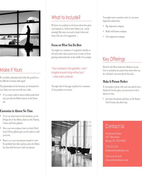 Free Tri Fold Brochure Template Downloads 2 by Tri Fold Brochure Template For Free Page 2