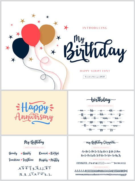 It is one of the best save the date birthday card maker and easy to use applications to create & send customize invitation on the go. Birthday Font   StudioAKTYPE   FontSpace