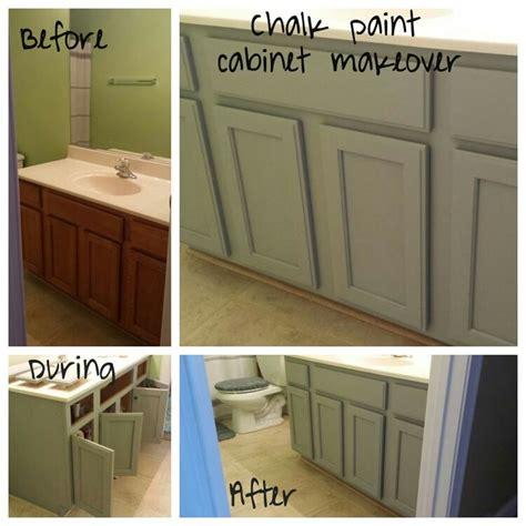 chalk paint cabinet makeover  valspar color woolen