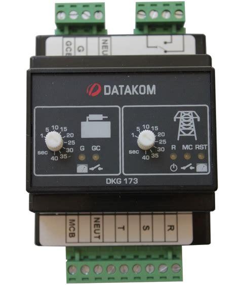 datakom dkg 173 230 400v generator mains automatic transfer switch panel ats ebay
