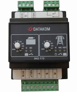 Datakom Dkg 400v Generator    Mains Automatic