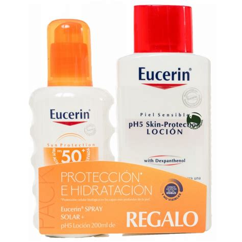 eucerin solar spf  spray  ml aftersun  ml