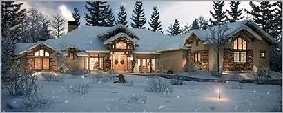 Snow Falling Renderings Photorealistic Rendering Bring Homes