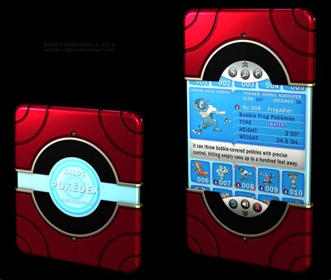 Kalos Pokedex 3d Pokemon X Y 6th Generation By
