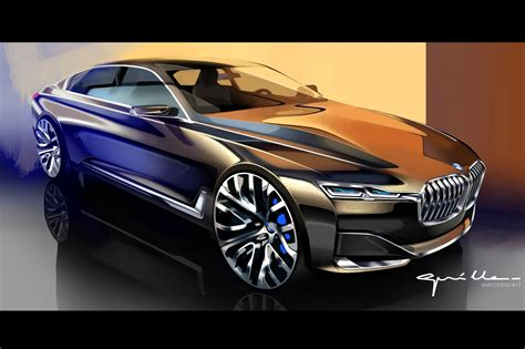 bmw vision future luxury concept points    series