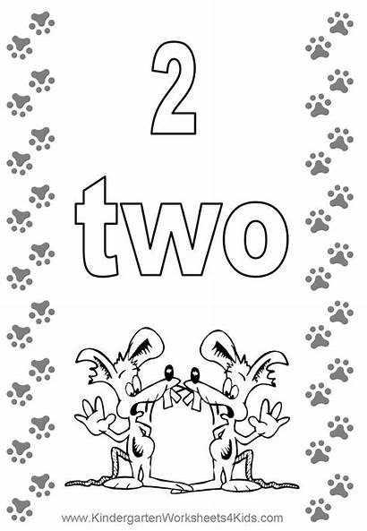 Coloring Number Pages Preschool Tranh Cho Cards
