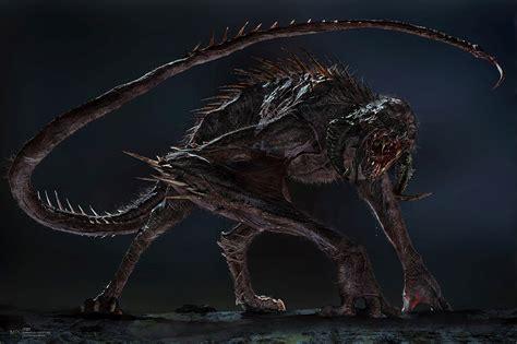 ArtStation - Crimson creature - The Dark Tower, stephen ...