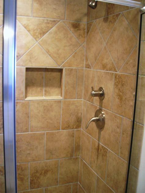 bathroom tiled shower ideas   install