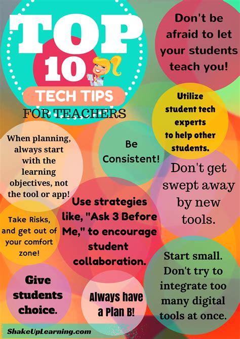 Top 10 Tech Tips For Teachers