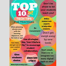 Top 10 Tech Tips For Teachers