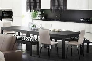Table 12 Personnes Ikea : tables de salle manger 4 personnes 6 personnes ikea ~ Nature-et-papiers.com Idées de Décoration