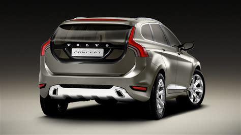 Volvo Concept Car Back View Wallpaper For Desktop