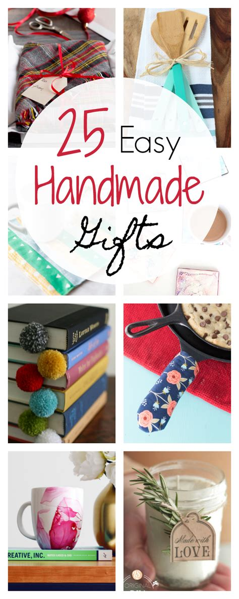 Quick And Easy Homemade  Ee  Gift Ee    Ee  Ideas Ee   Crazy Little Projects