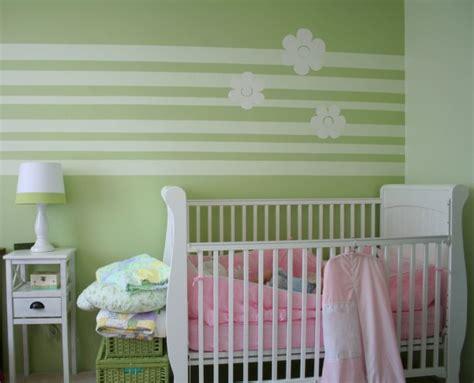 Babyzimmer Wandgestaltung Streifen by 100 Ideen F 252 R Wandgestaltung In Gr 252 N