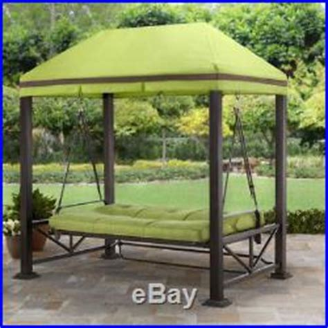 Better Homes And Gardens Patio Swing Cushions by Pergola Swing For Backyards Outdoor Seat Gazebo With