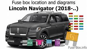 Fuse Box Location And Diagrams  Lincoln Navigator  2018