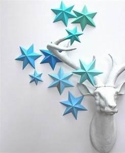 3d Stern Basteln 5 Zacken : ber ideen zu 3d sterne basteln auf pinterest ~ Lizthompson.info Haus und Dekorationen