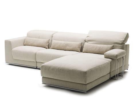 canapé inclinable joe canapé avec méridienne by bedding design