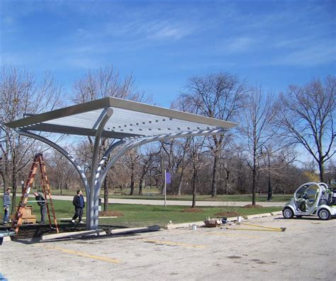 solar canopy pipe rolling