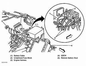 Small Block Chevy Alternator Wiring