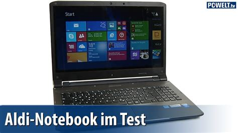 Aldi Notebook Medion Akoya S6212t Im Pc Welt Test German