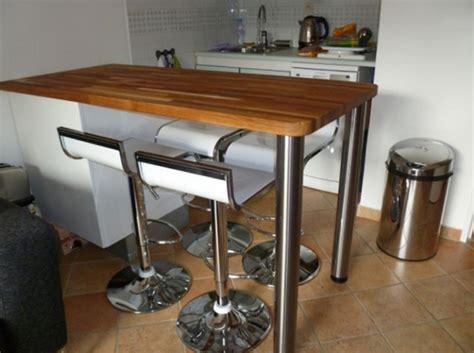 fabriquer bar cuisine fabriquer sa table de cuisine systembase co